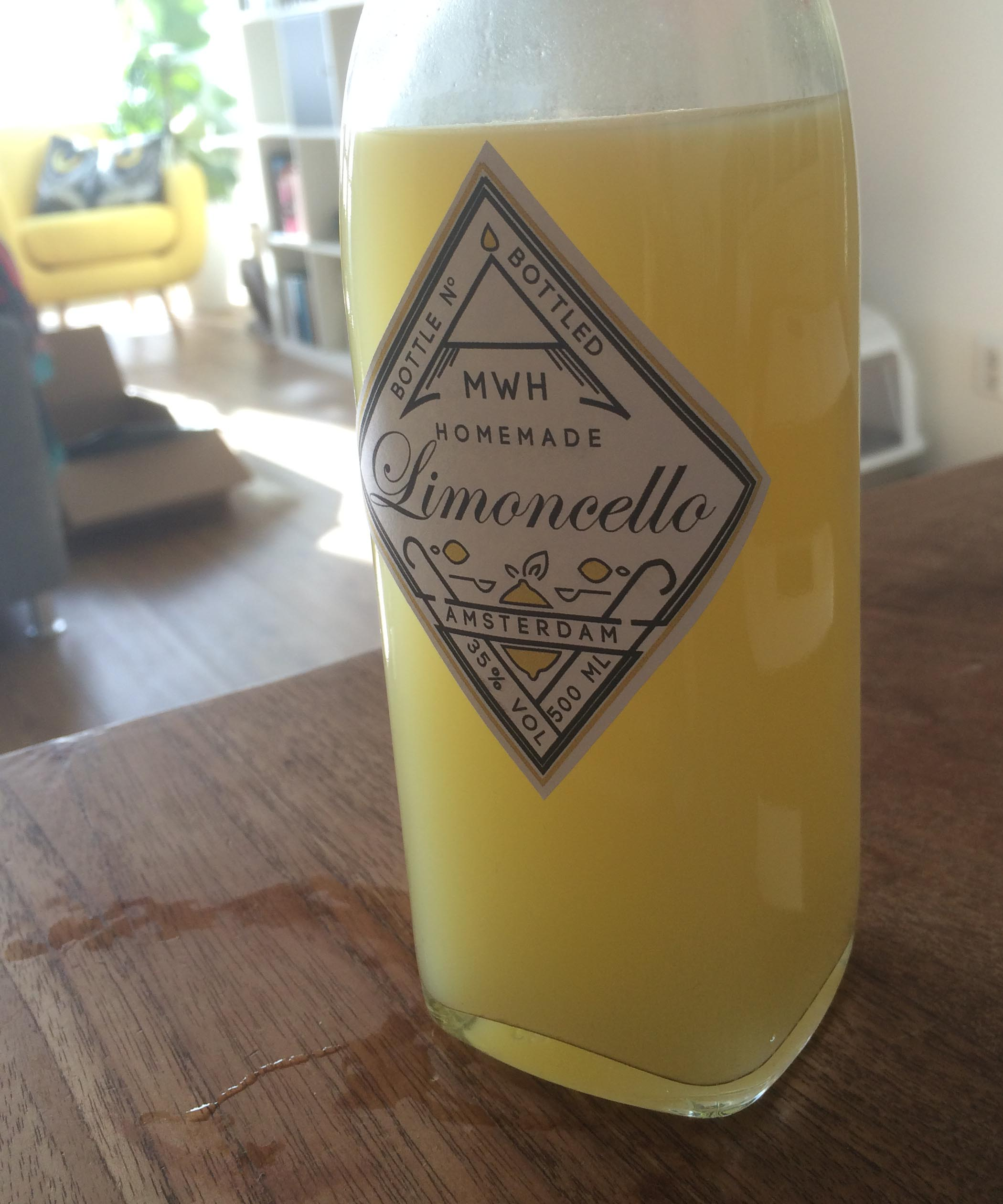 stickers limoncello